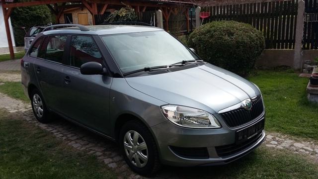 Škoda Fabia 1.4 16V Combi jen 60tis.km!