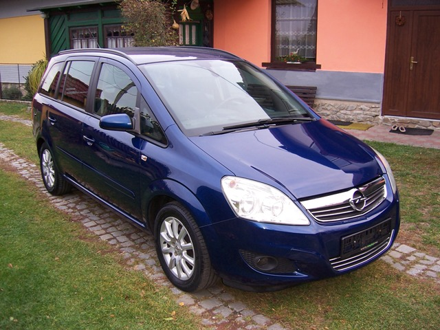 Opel zafira 1.8 16V Edition 7-mi mistné