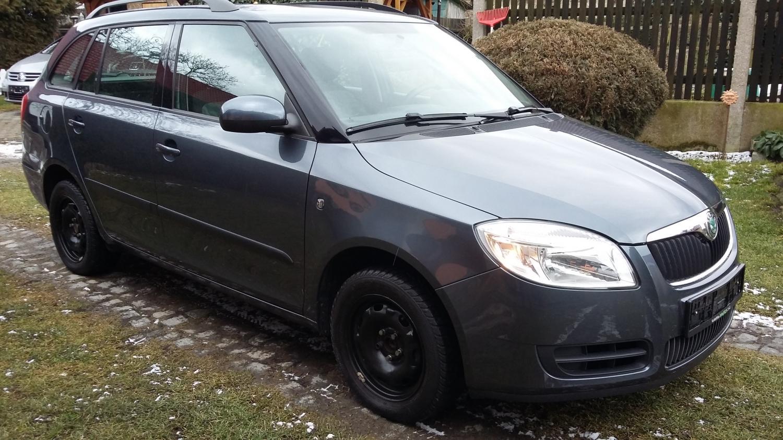 Škoda fabia 1.6i Ambiente